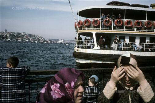 Alex Webb, ©Magnum Photos, Istanbul : Katmanlar, Giriş Noktası, Duygu